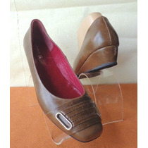 Zapatos Taco Chico Nº39 Andrea Bo 100% Cuero