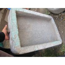 1 Antiguo Lavadero De Piedra Labrado A Mano