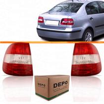 Par Lanterna Traseira Polo Sedan 2003 2004 2005 2006 Canto