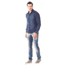 Calça Masculina Skinny Com Elastano - Ice Clean