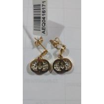 Aretes Chanel Dorados