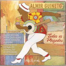 Cd Almir Guineto - Todos Os Pagodes Frete Gratis