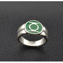 Anel Clássico Dos Lanternas Verdes 6cm Interno
