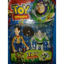 Muñeco Buzz Lighyear Y Woody De Toy Story En Combo