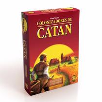 Colonizadores De Catan Expansão 5 E 6 Jogadores 03104 - Grow