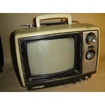 Tv Antigua Toshiba Blackstripe De Coleccion - 9 Pulgadas