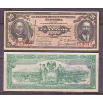 Si-sin-32 Billete Del Estado De Sinaloa 25 Centavos