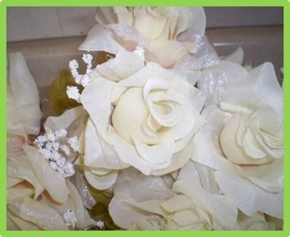 Flores Artificiales Rosas 57600 En Mercado Libre - Manualidades-con-flores-artificiales