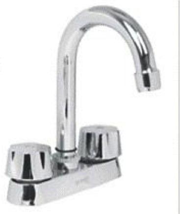 Mezcladora para lavabo cuello tipo bar foset llave 49275 for Llaves para lavabo helvex