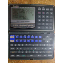 Calculadora Agenda Casio Sf-6300, 64kb, Reloj, D
