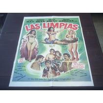 Poster Original Las Limpias Rebeca Silva Grace Renat Lyn May