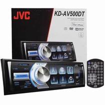Dvd Jvc Kd-av500dt Tv Digital Usb Tela 3 Inst. Grátis No Rj