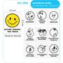 Carimbos Educativos Psico Avaliação Smile 10 Carimbos