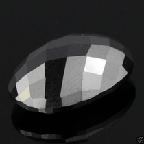 Elegante Diamante Negro Oval En Corte Checker, 3.88 Ct.mn4