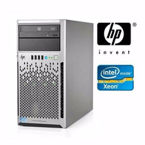 Servidor Hp Proliant Ml310e Xeon E3-1220 8bg 500gb Usado