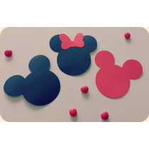 Tarjetas Tags Scrapbooking Mickey Mouse / Minnie