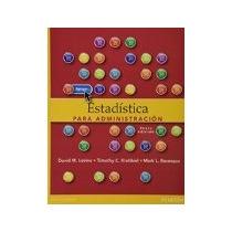 Libro Estadistica Para Administracion 6e *cj