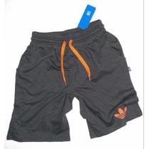 Adidas Short Bermudas De Entrenamiento Puro Algodon 100%