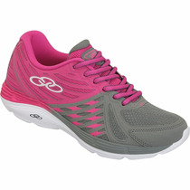 Tênis Olympikus Feminino Flix Caminhada Corrida Running