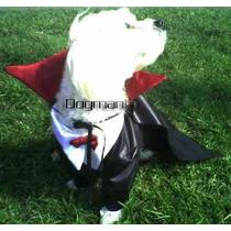 Conde Dracula Disfraz Halloween Para Perro Talla Tres