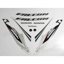 Kit Adesivos Honda Falcon Nx4 2013 Prata - Decalx