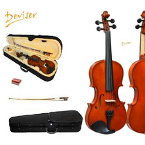 Violino 4/4 Completo Arco Breu Estojo Luxo Top