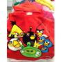 Toalla Capucha Angry Birds