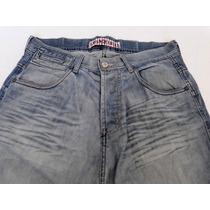 Pantalon Jeans Hombres Talle M Chiripa Tipo Cagado Hx6k