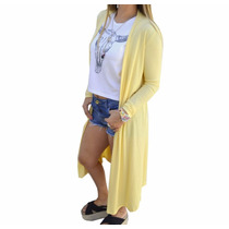 Saco Kimono Largo Morley Colores Mujer The Big Shop