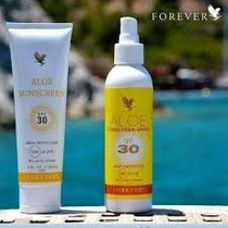 Protetor Solar Aloe Sunscreen Spray E Creme Forever Living