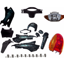 Kit Carenagem Honda Biz 100 Comp. Ate 2003 Verde