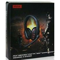Headset Turtle Beach Ear Para Ps4 Ps3 Xbox360 E Pc