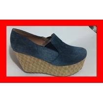 Zapato Tipo Plataforma Colombiano
