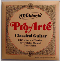 Encordoamento Daddario Ej45 Pro-artè Para Violão Nylon