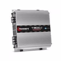 Modulo Taramps T800.1 Compact 1 Canal 800wrms Mono Rca T800