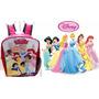 Bello Morral Escolar Princesas De Disney Regalo Cotillón