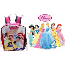 Bello Morral Escolar Princesas De Disney Regalo Cotillón