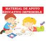 Material De Apoyo Educativo Imprimibles Para Primer Grado
