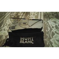 Lentes Mont Blanc Oftalmicos