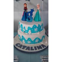 Torta Frozen Ana Elsa Olaf, Cumpleaños, Infantil