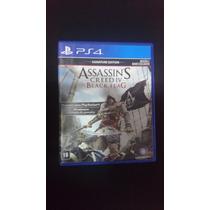 Assassins Creed Iv Black Flag 4 Português Mídia Física Ps4