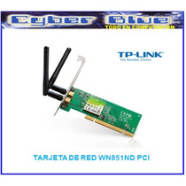 Tarjeta De Red Inalambrica Tp Link Wn851nd Pci 300mbps