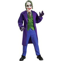 Batman El Caballero Oscuro Deluxe El Traje De Payaso, Niño