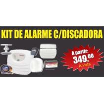 Kit De Alarme Para Residências E Empresas Com Discadora
