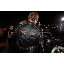 Jaqueta Couro Harley Davidson 110 - Genuina- Pronta Entrega!