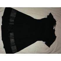 Vestido Negro Damas Talla S/m