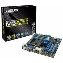 Kit Placa Mãe Am3+ Asus M5a78l-m/usb3 Usb 3.0 + 4gb Hyperx