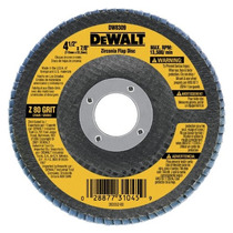 Dewalt Dw /2 X 7/8 80 Grit Zirconia Ángulo Amoladora Disc