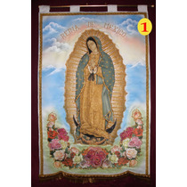 Virgen De Guadalupe Estandartes Nuevos Modelos 2016