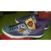 Zapatillas Dama Estilo Kosiuko C/brillos Unicas! Y Elegantes
